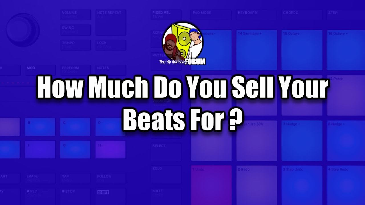 How Much Do You Sell Your Hip Hop Beats For