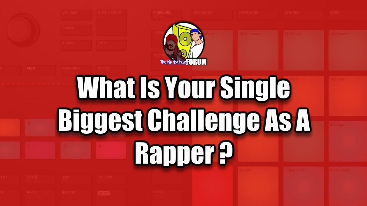 Challenges Rappers Face These Days